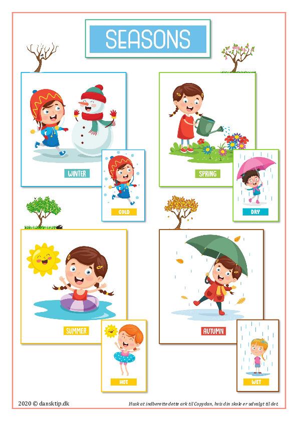 Kopiark/opgave:Plakat seasons