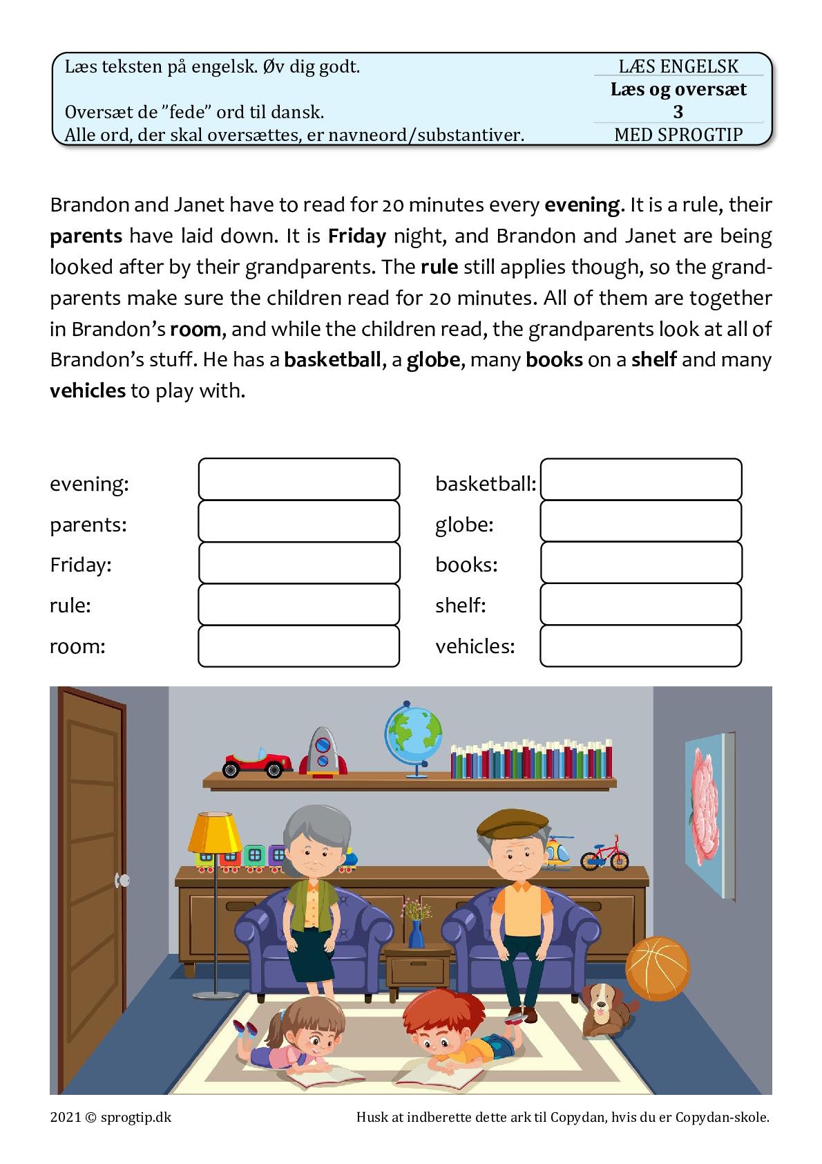 Kopiark/opgave:Læs og oversæt 3