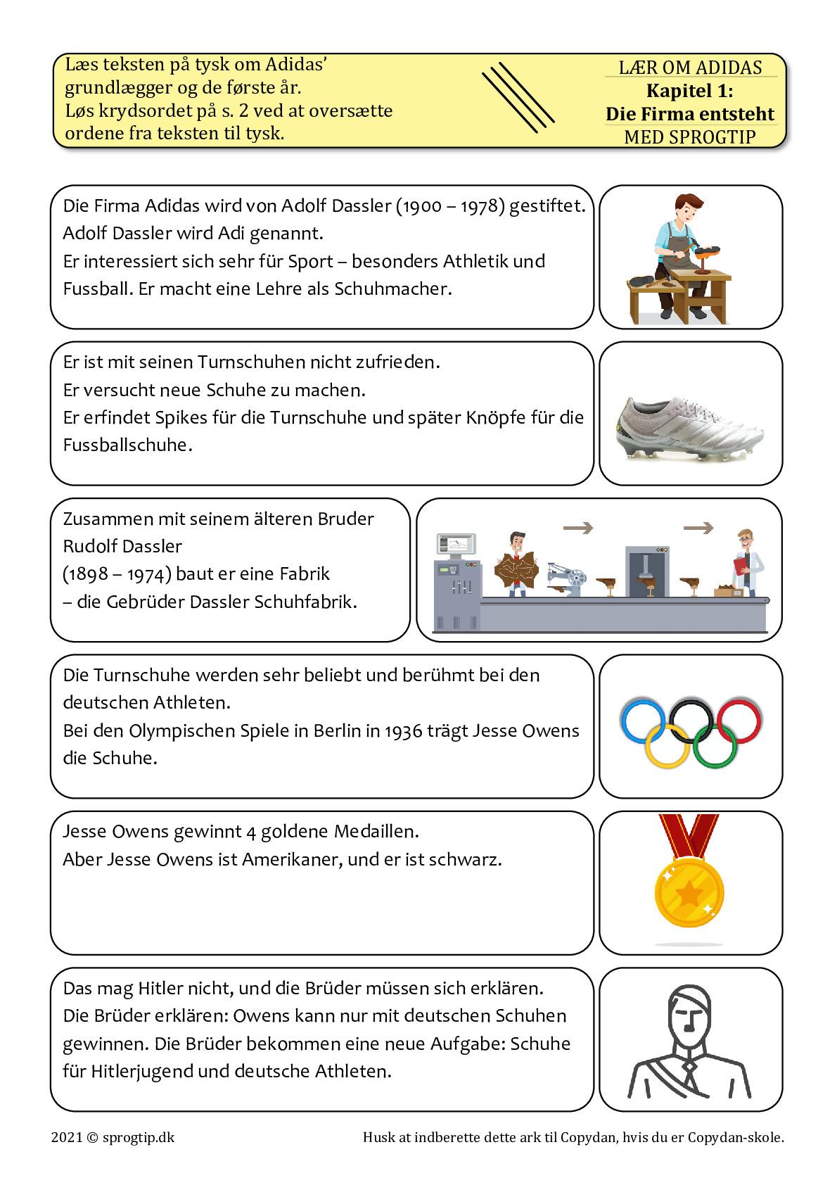 Kopiark/opgave:Adidas kapitel 1