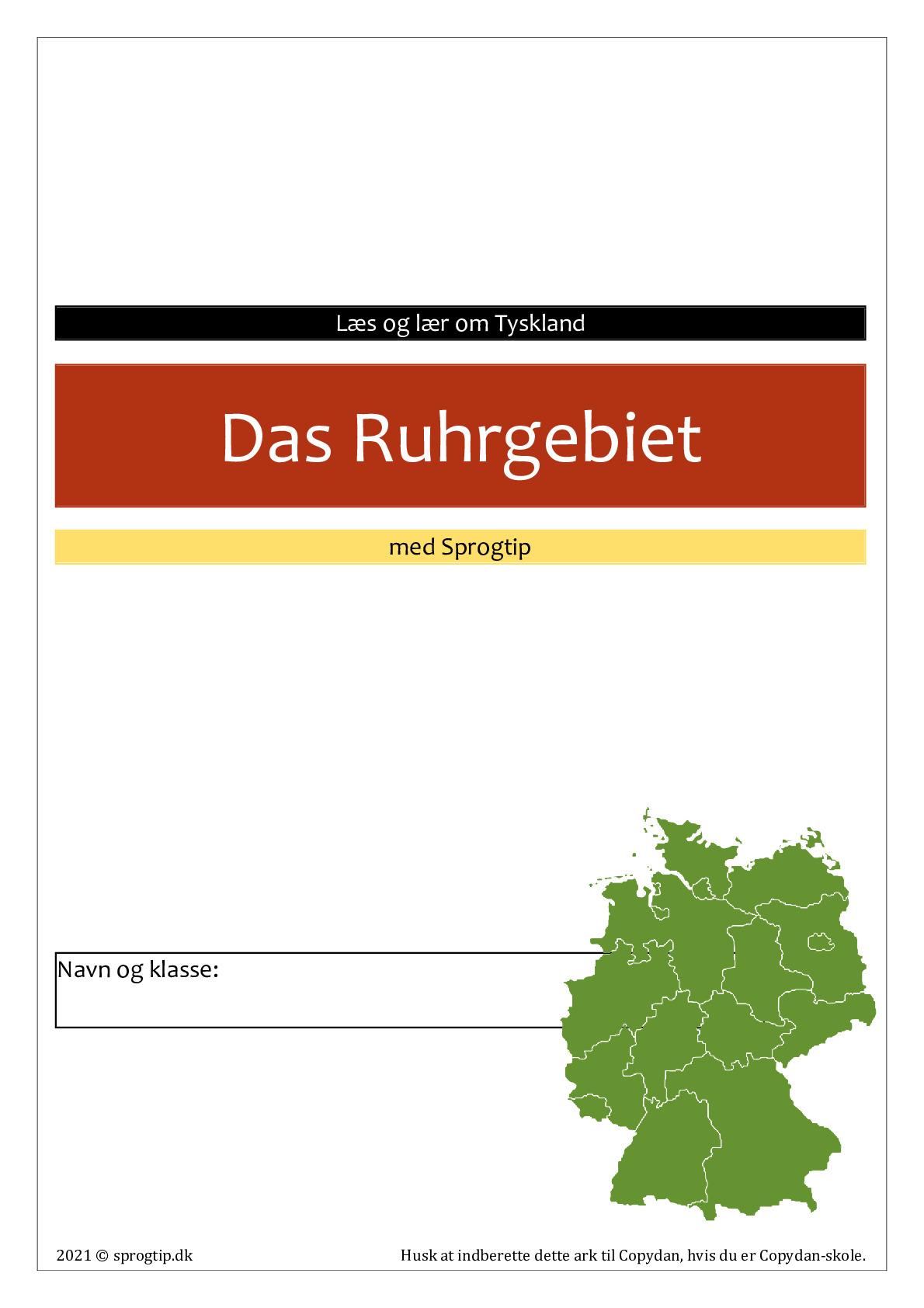 Kopiark/opgave:Ruhrgebiet
