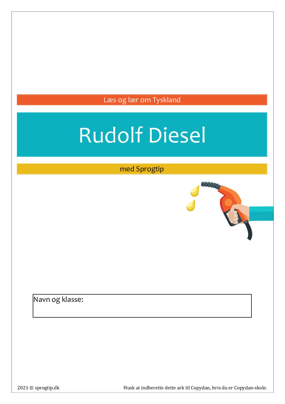 Kopiark/opgave:Rudolf Diesel