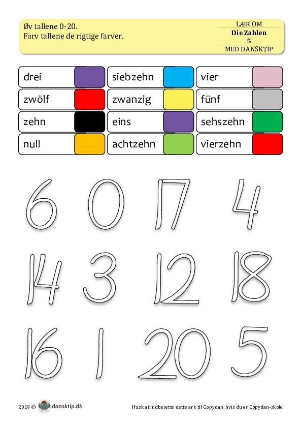 Kopiark/opgave:Die Zahlen 5
