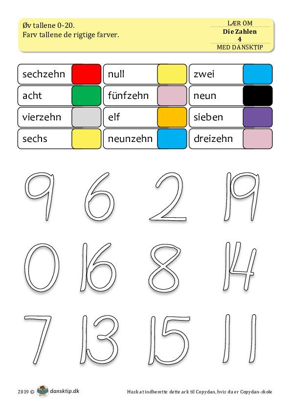 Kopiark/opgave:Die Zahlen 4