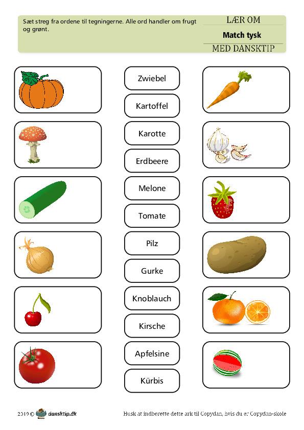 Kopiark/opgave:Match frugt 1