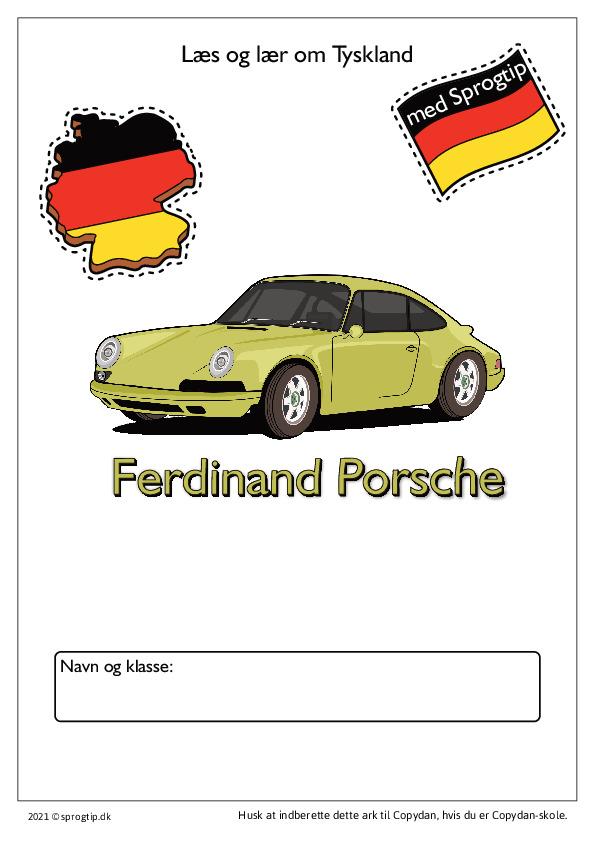 Kopiark/opgave:Porsche